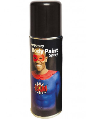 Body Paint Spray 125ml – Black