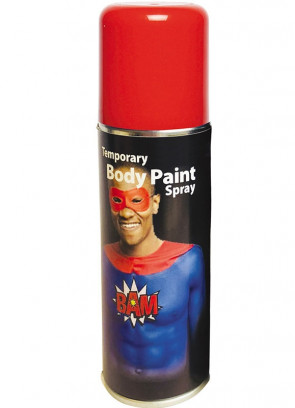 Body Paint Spray 125ml – Red