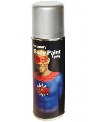 Body Paint Spray 125ml – Silver