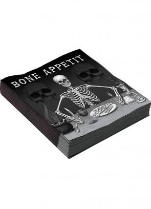 Bone Appetit Napkins (16pk)