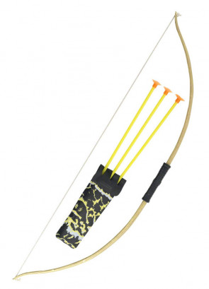 Wooden Effect Bow and Arrow 72cm