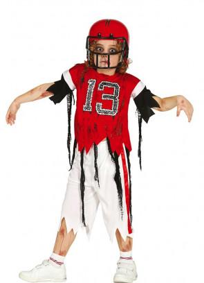 Boys Zombie Quarterback Costume