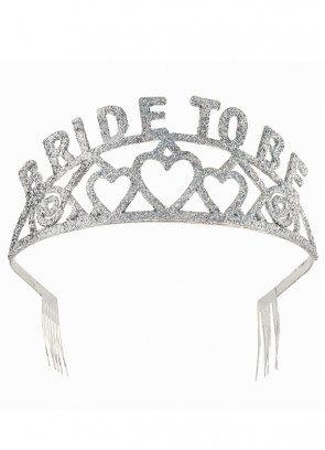 Glitter Bride to Be Tiara