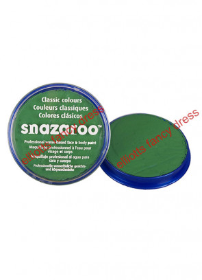 Snazaroo Bright Green Face Paint 18ml
