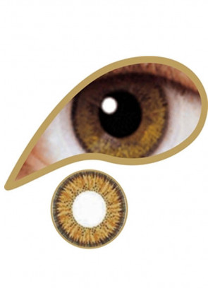 Brown Coloured Contact Lenses - 30 Day Wear