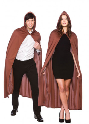 Fellowship Hooded Cape Brown - Adults