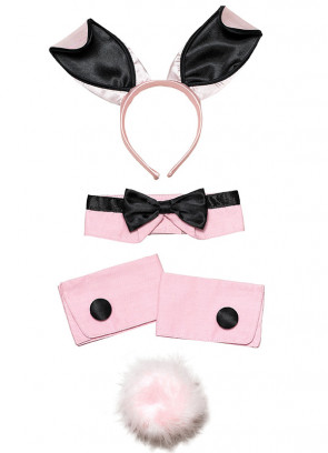 Four piece Pink Playboy Bunny Set
