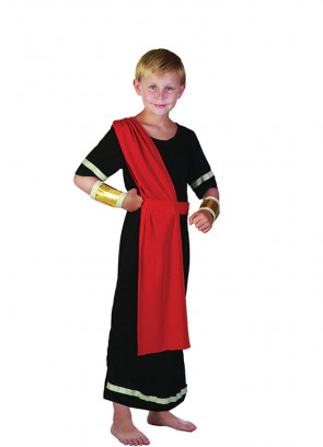 Caesar (Black Toga) (Boys) Costume