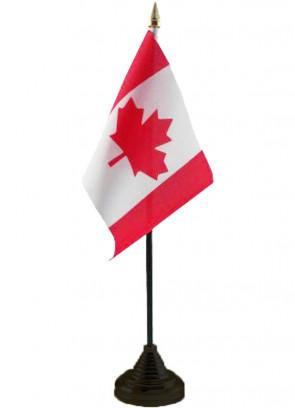 """Canada Table Flag 6"""" x 4"""""""