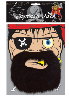 Captain Jack Pirate Beard