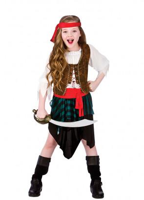 Caribbean Pirate Girl Costume