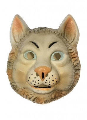 Cat Plastic Mask (Kids)