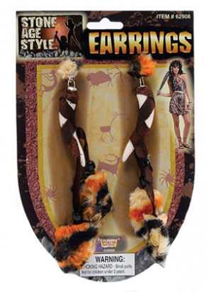 Viking / Cavegirl Earrings