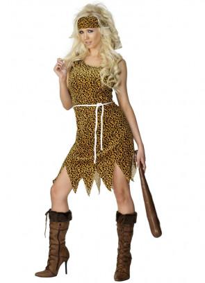 Cavewoman (Cheetah Print) Costume