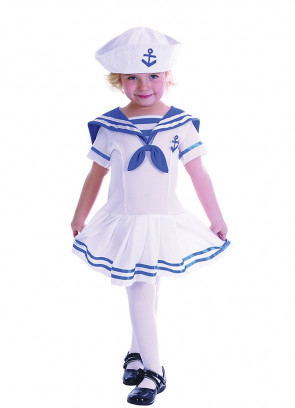 Sailor Girl (Baby) Costume