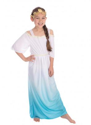 Roman Goddess - Blue and White