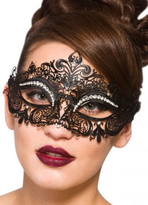 Cecilia Eye Mask With Diamantes