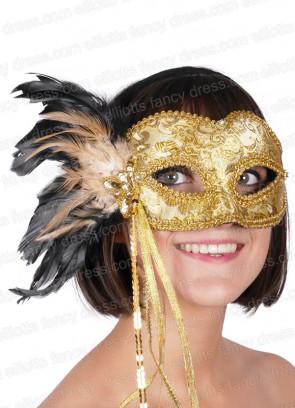 Chicquita Gold Eye Mask