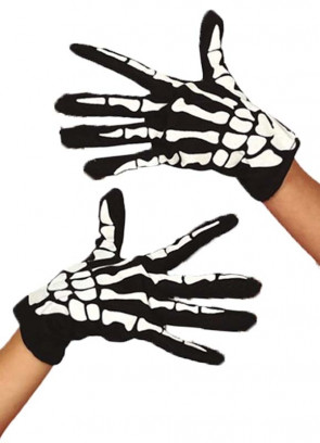 Skeleton Gloves - Kids