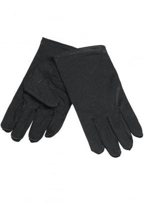 Gloves (Kids Black Satin)