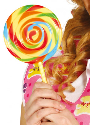 Chocolate Factory Jumbo Fake Lollipop 12cm Wide