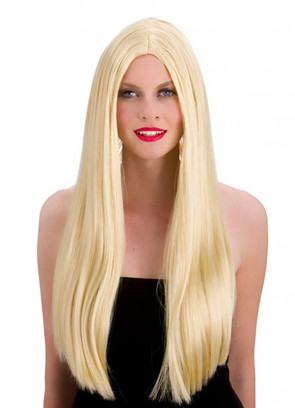 "Classic Long 24"" Blonde Wig"
