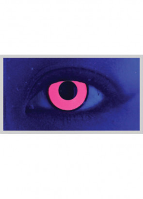 Climax Pink UV Contact Lenses - 1 Month Wear