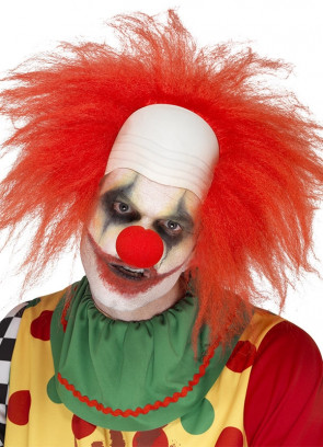 Deluxe Clown Wig and Bald Head