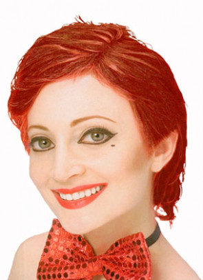 Rocky Horror Show - Columbia Wig - Red