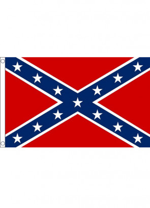 USA Confederate Flag 5ftx3ft