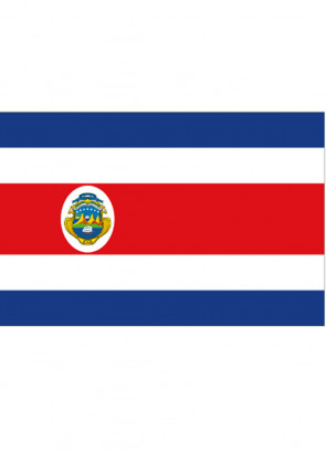 Costa Rica Flag 5x3