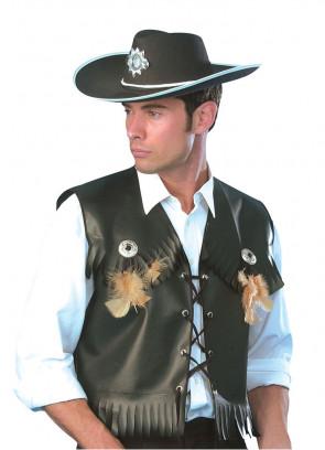 Cowboy or Biker Waistcoat