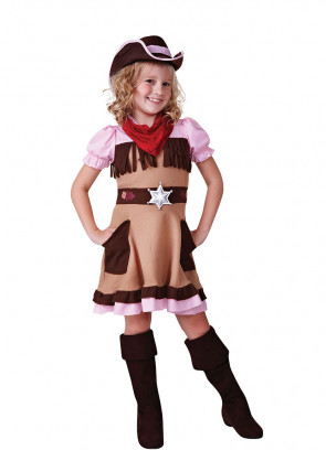 Cowgirl Cutie (Girls) Costume