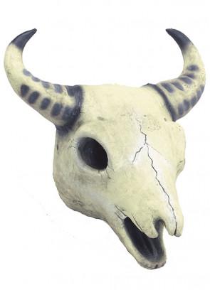 Creepy Cow Skull