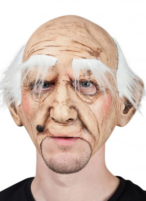 Creepy Old Guy - Mouth Free Mask