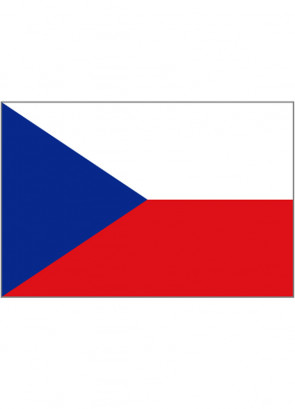 Czech Republic Flag 5x3