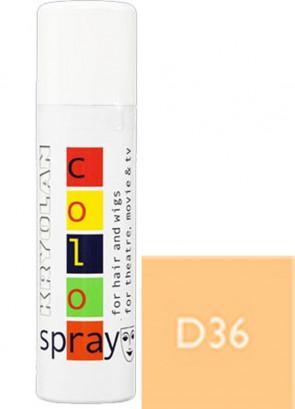 Kryolan Color Hair Spray (Opaque Blonde D36)