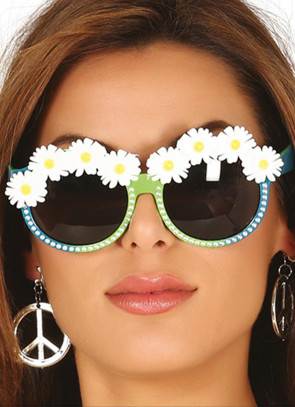 Daisy Chain Hippie Glasses