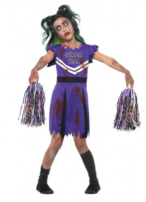 Dark Cheerleader Costume
