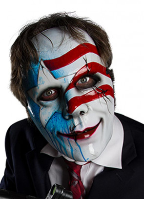 Dead, White and Blue Mask