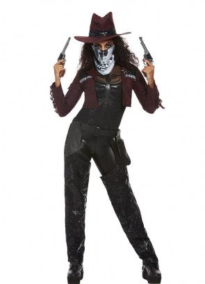 Deluxe Dark Spirit Cowgirl Costume - Ladies