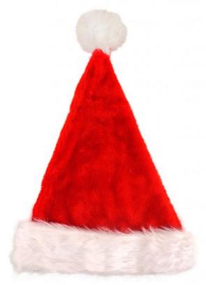 Deluxe Santa Hat with plush fur