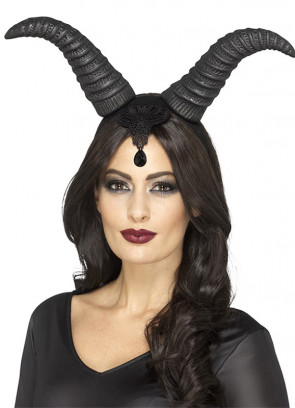 Demonic Queen Horns- Lady Raven