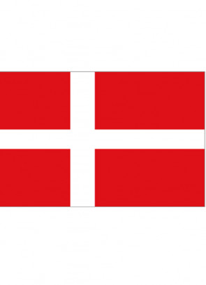 Danish (Denmark) Flag 5x3