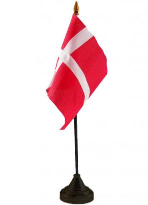 """Denmark Table Flag 6"""" x 4"""""""