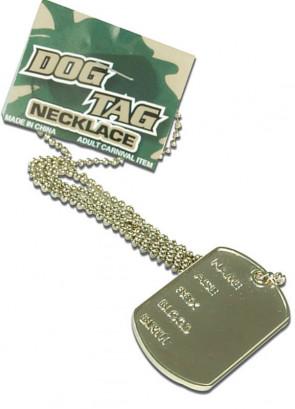 Metal Army Dog Tag