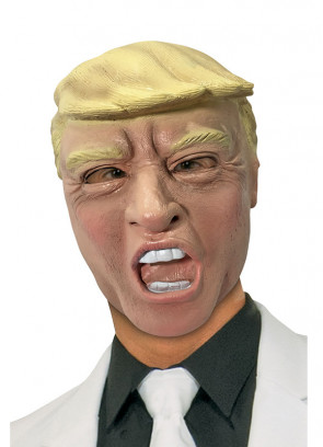 Donald Trump Rubber Mask (Half Head)
