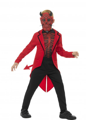 Day of the Dead Devil Boy Costume