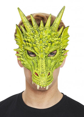 Green Dragon Half Mask – Soft