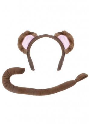 Monkey set (Ears and Tail)